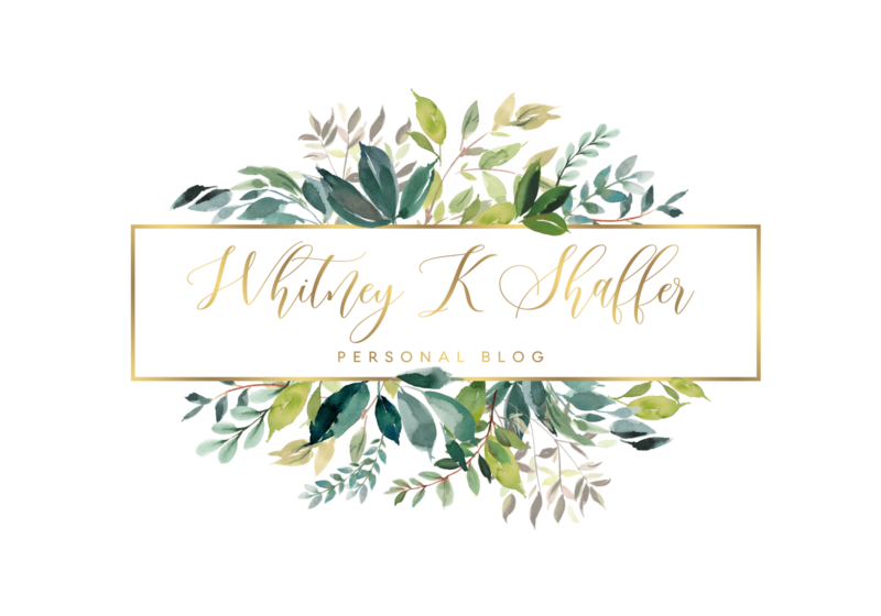 logo, greenery, Whitney K Shaffer, gardener, greenery, natural